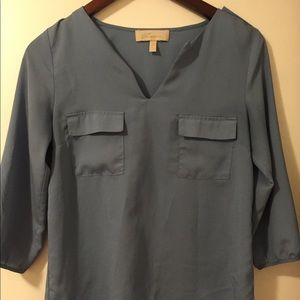 Chiffon dress shirt